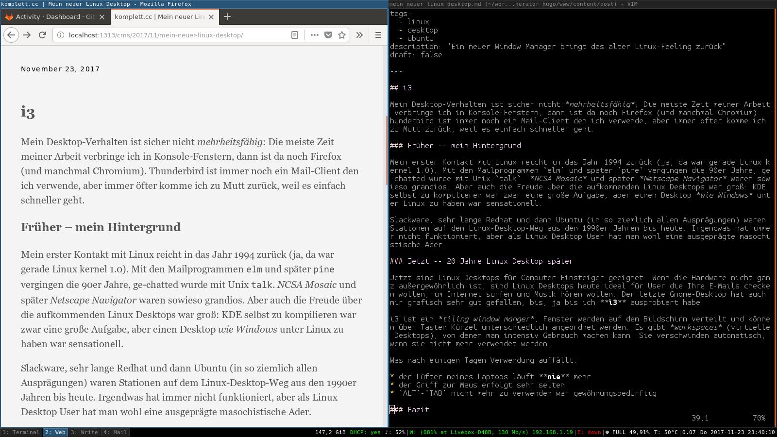 image from i3 - Mein neuer Linux Desktop